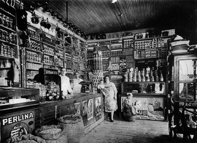 Foto de un almacén antiguo