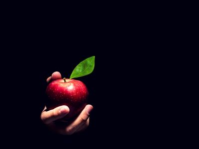 Tentado por una manzana